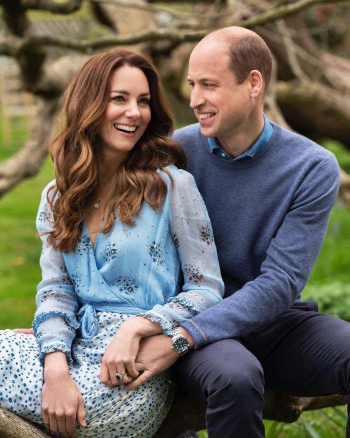 10 años William Kate Are All Smiles nuevo retrato de aniversario