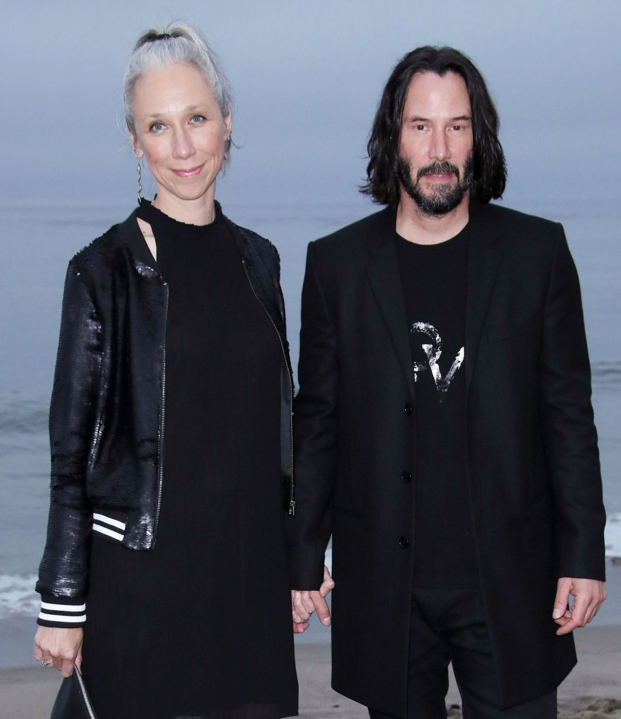Keanu Reeves and Alexandra Grant Celebrities Who Fell in Love With Non-Famous People