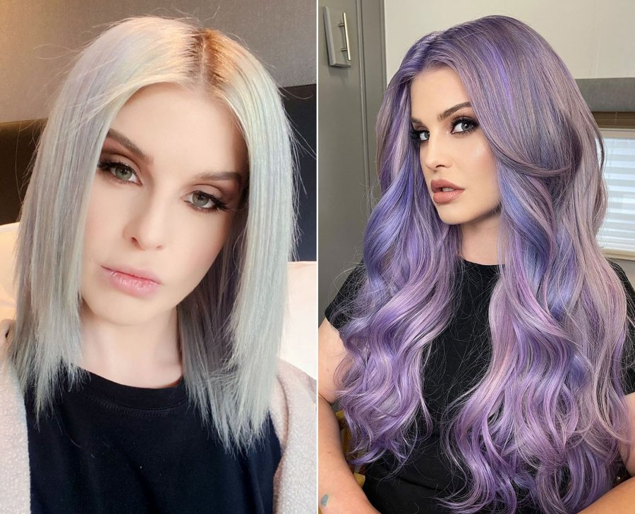 Kelly Osbourne Debuts Purple Hair and a 'New Outlook' After Relapse: Pic