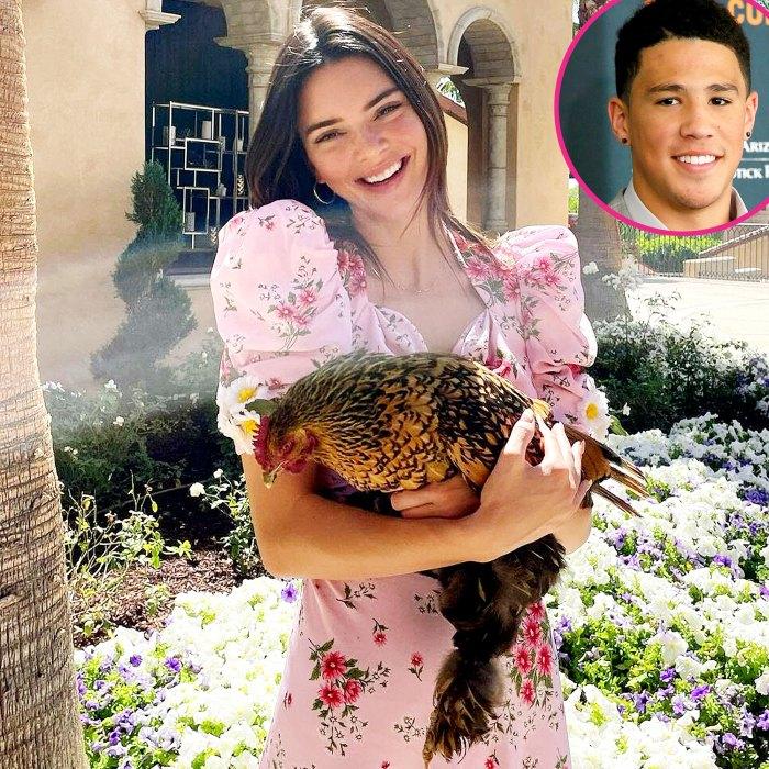 Kendall Jenner recibe un mensaje coqueto de Pascua de Devin Booker