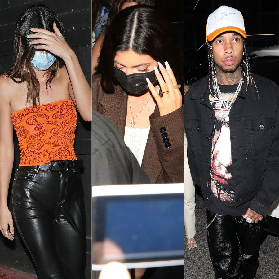 Kendall, Kylie and Tyga? Photos of Their Night Out