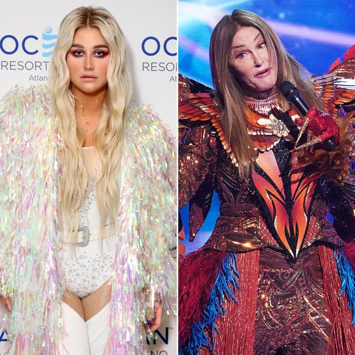 Kesha Reacts With Major Shade to Caitlyn Jenner's 'Masked Singer' Cover of 'Tik Tok'