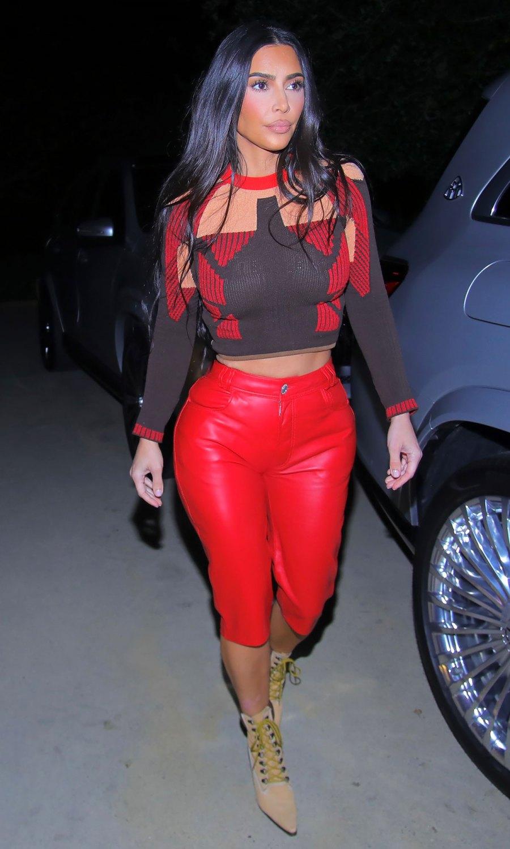 Kim Kardashian March 31, 2021