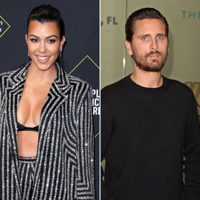 Kourtney Kardashian está sorprendida por lo mucho que disfruta el tiempo a solas con Scott Disick