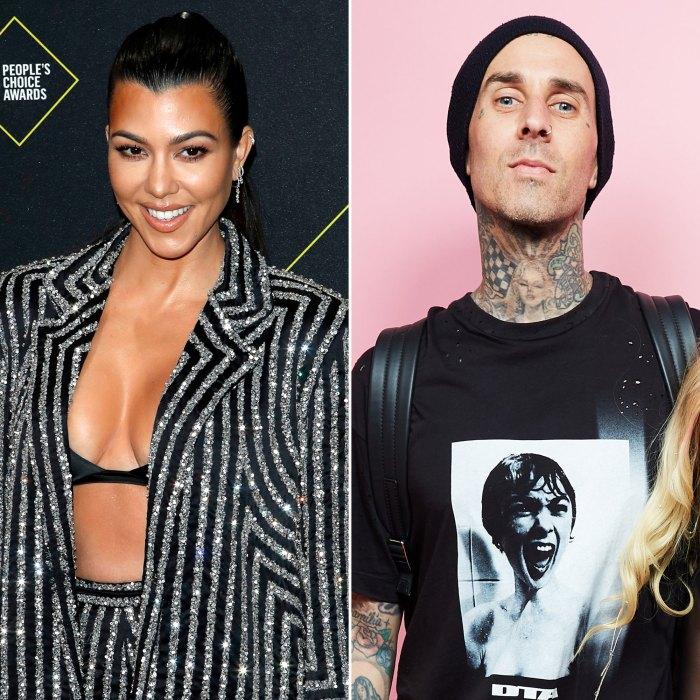 Kourtney Kardashian responde después de que Travis Barker dice que 'solo los humanos' lo muerden