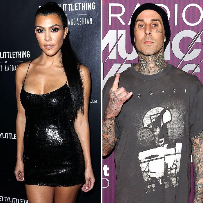Kourtney Kardashian Travis Barkers Friends Think They Will Get Engaged