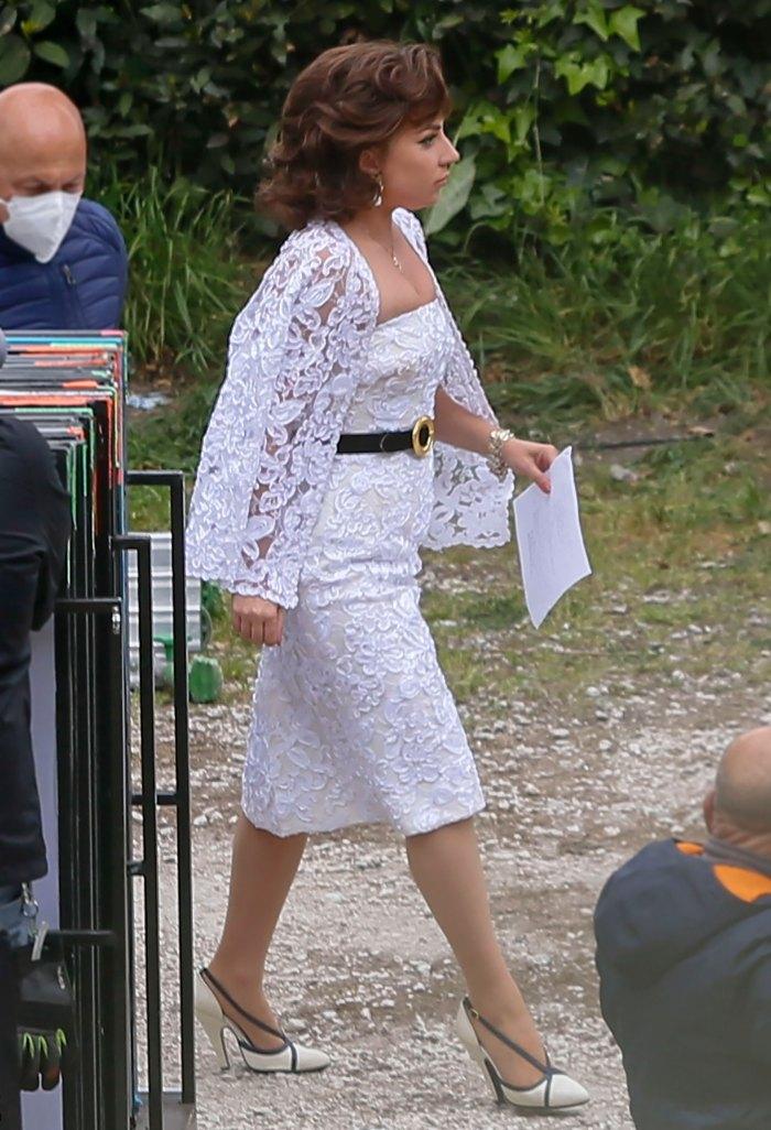 Debe ver: el magnífico vestido de novia de Lady Gaga para 'House of Gucci'