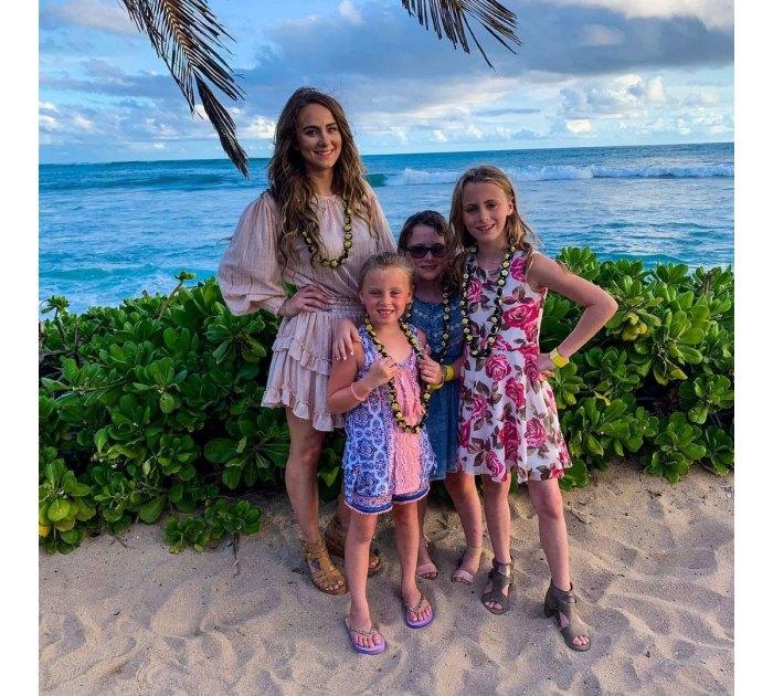 Leah Messer Daughters Beach
