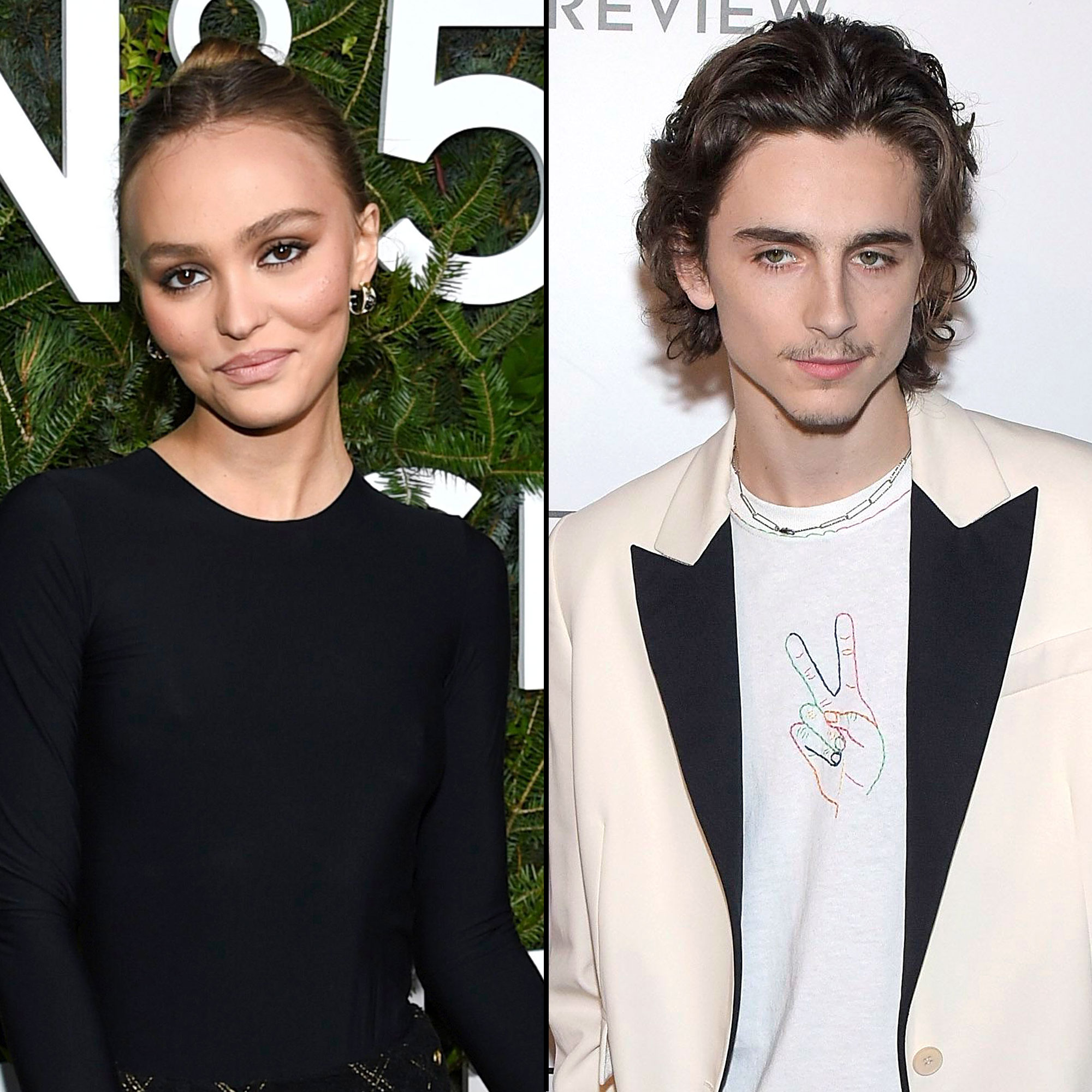 Hot lily rose depp New Couple