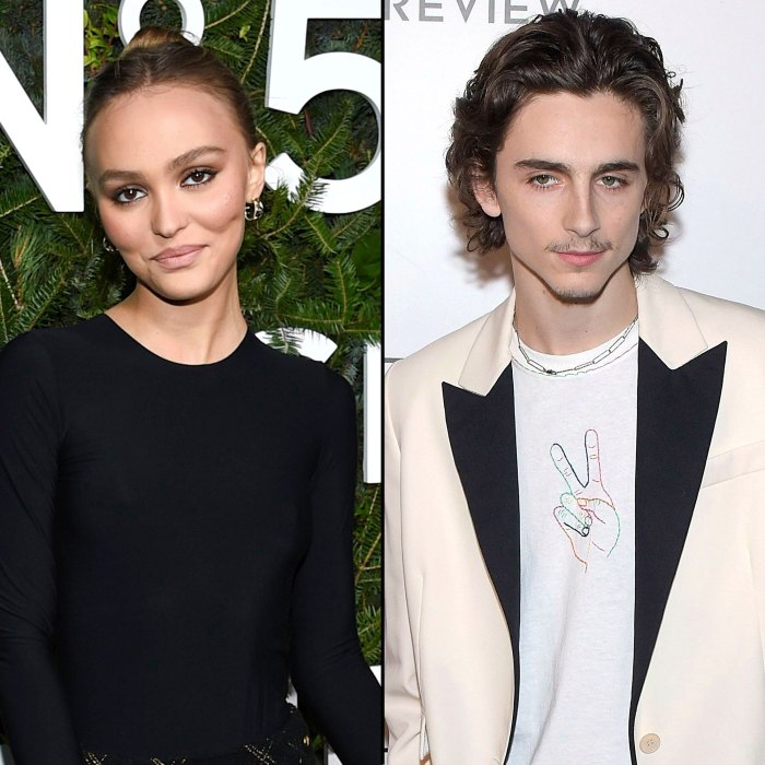 Lily-Rose Depp Won't Comment on Timothee Chalamet