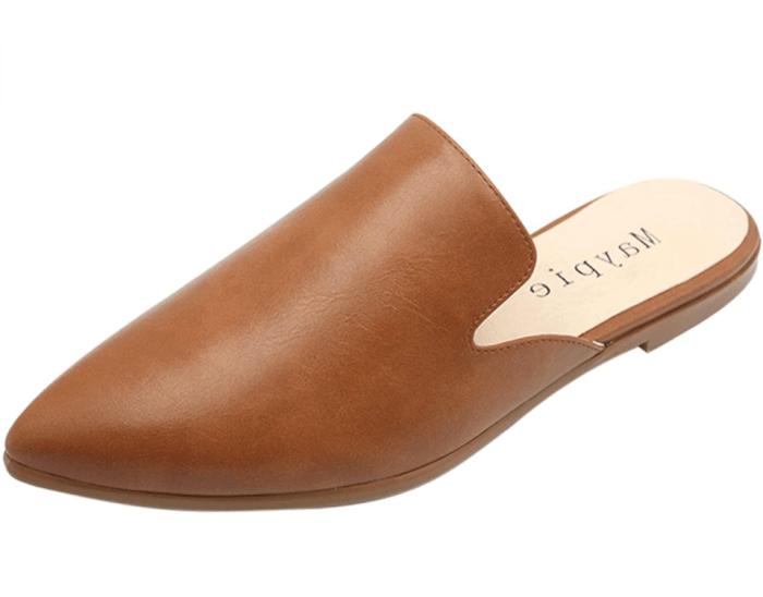 MAYPIE Zapatos planos sin cordones con punta cerrada para mujer