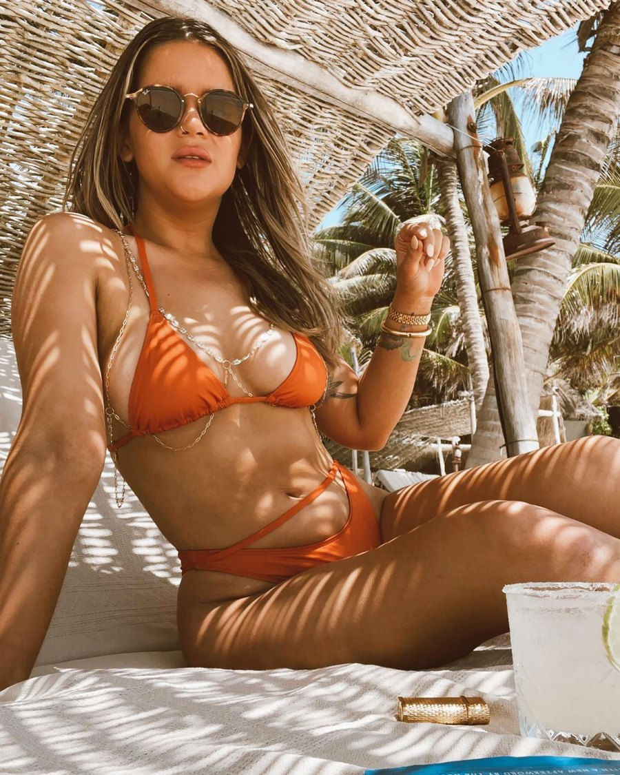 Maren Morris Shows Off Curves on Tropical Vacay After ACMs Win: Pics