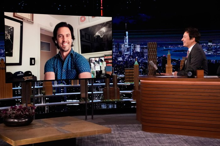 Milo Ventimiglia Met Mandy Moore 6-Week-Old Son Gus on the This Is Us Set Jimmy Fallon Tonight Show