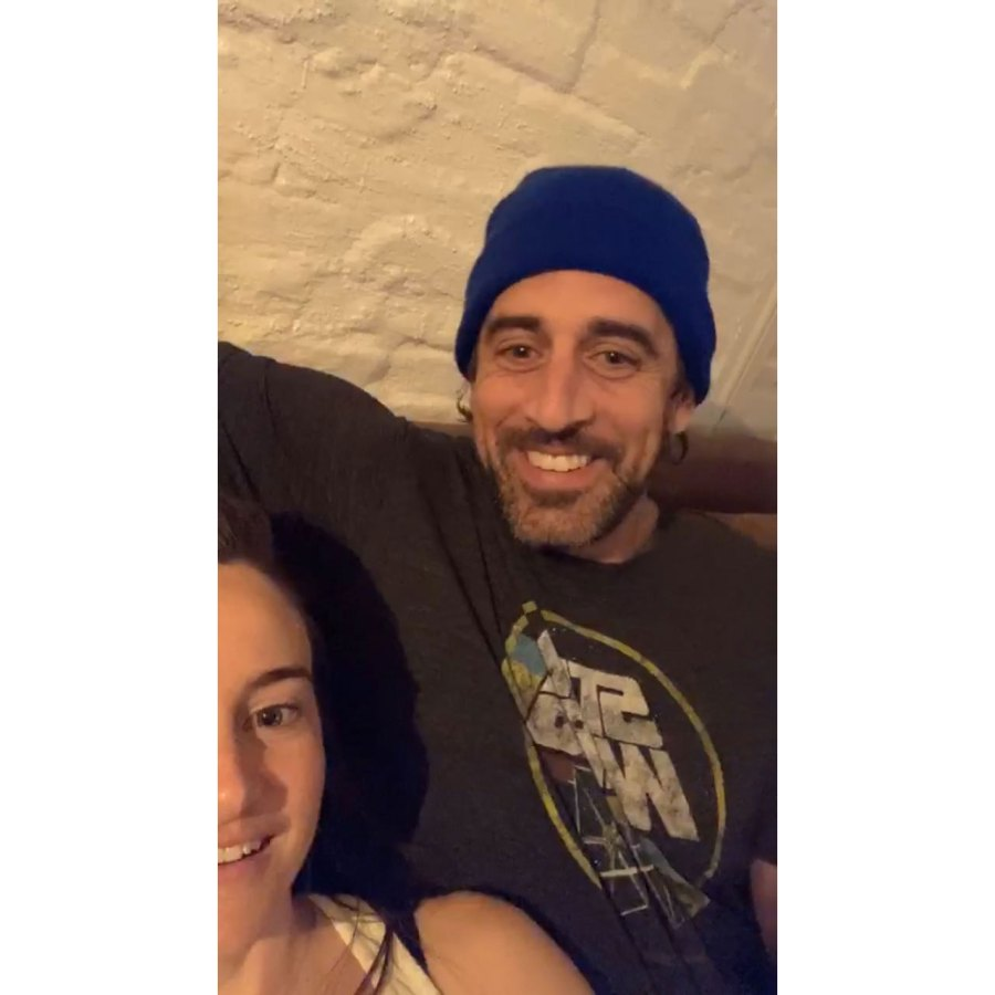 My Love Shailene Woodley and Aaron Rodgers Give 1st Glimpse Into Their Lives
