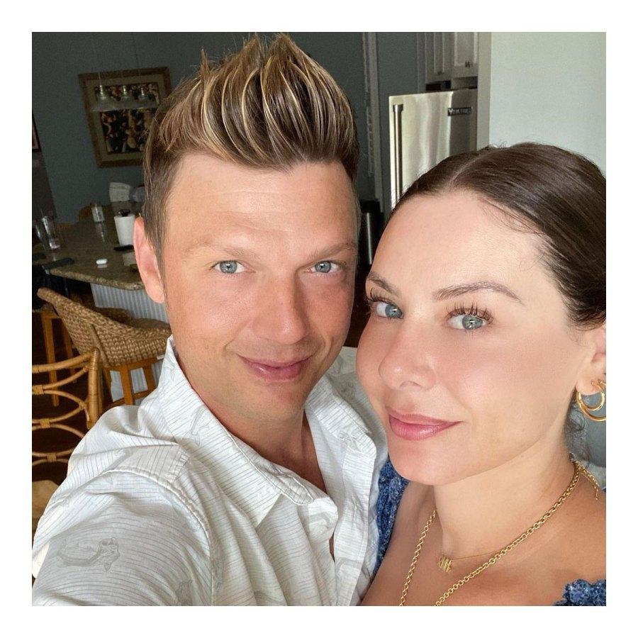 Nick Carter and Lauren Kitt 2021 Babies