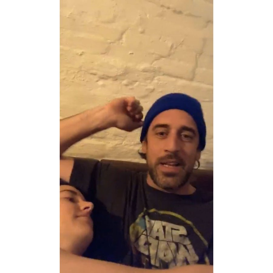 Not Watching Sports Shailene Woodley and Aaron Rodgers Give 1st Glimpse Into Their Lives