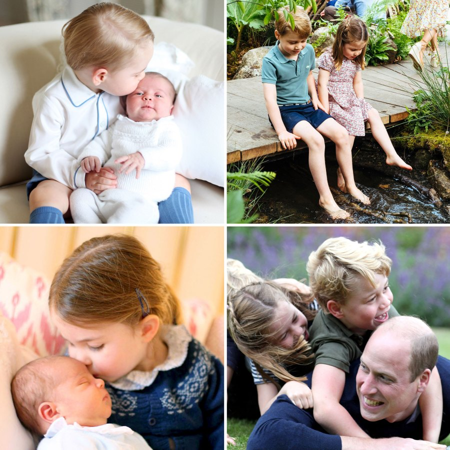 Prince George Princess Charlotte Prince Louis Sweetest Sibling Moments