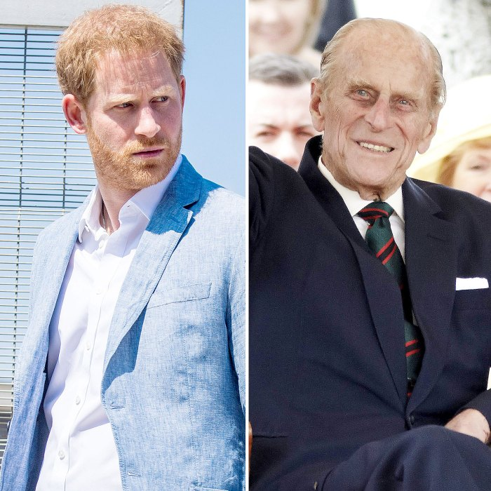 Prince Harry Feels Guilty He Wasnt There Say Goodbye Prince Philip Person