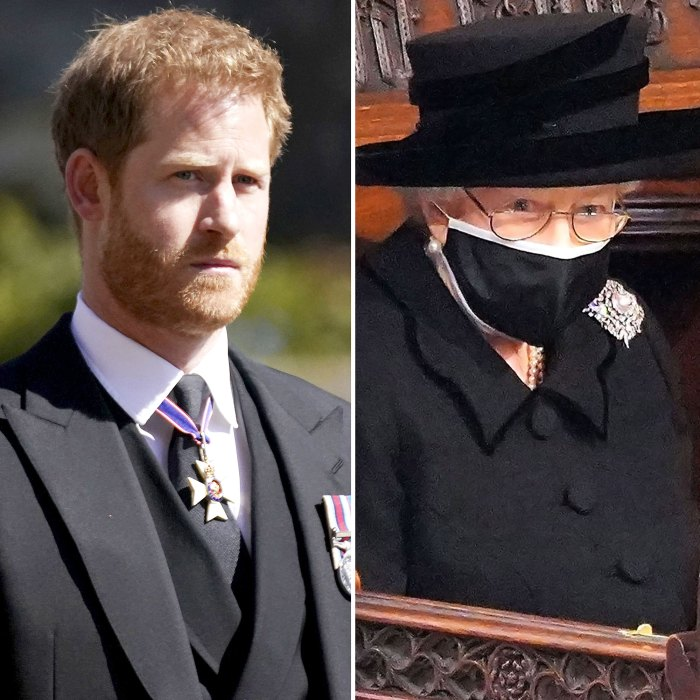 Prince Harry Queen Elizabeth II Spoke At Least 2 Occasions During Family Reunion