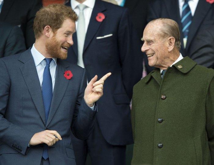 El príncipe Harry habla sobre el abuelo, el príncipe Felipe, muerte 2