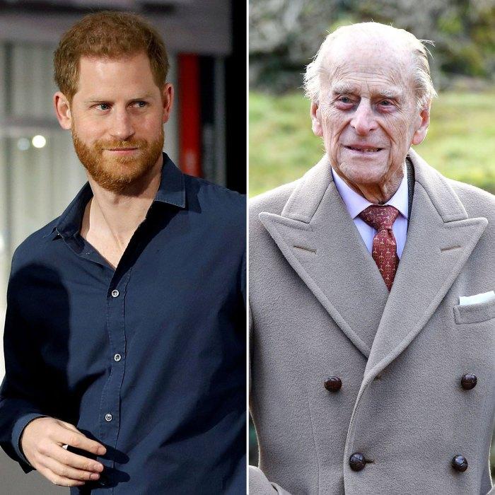 El príncipe Harry habla sobre la muerte del abuelo, el príncipe Felipe