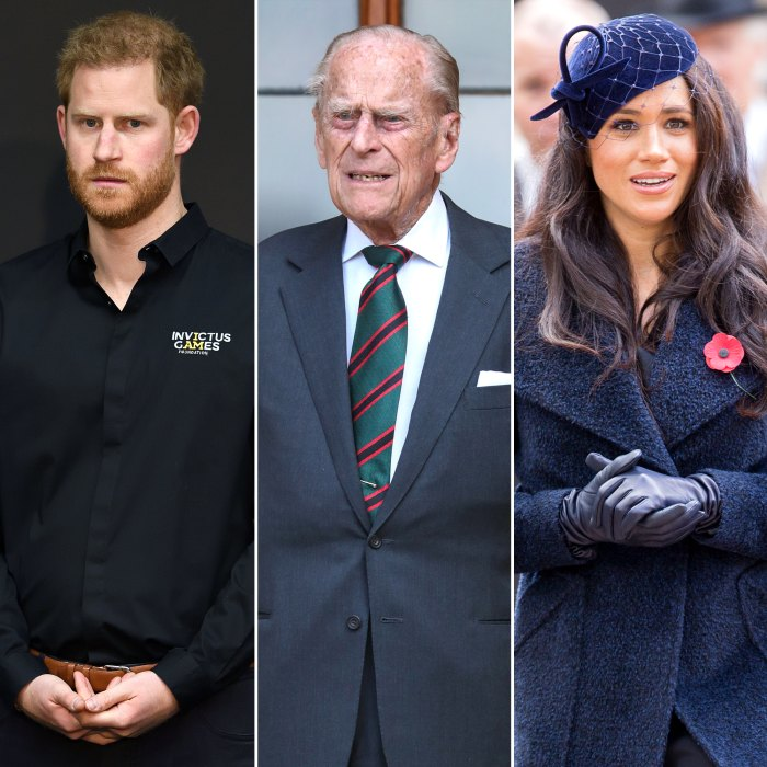 Prince Harry Will Attend Prince Philip's Funeral Without Pregnant Meghan Markle