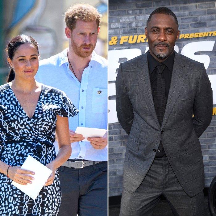 Prince Harry and Meghan Markle's Wedding DJ Idris Elba Defends Their Tell-All
