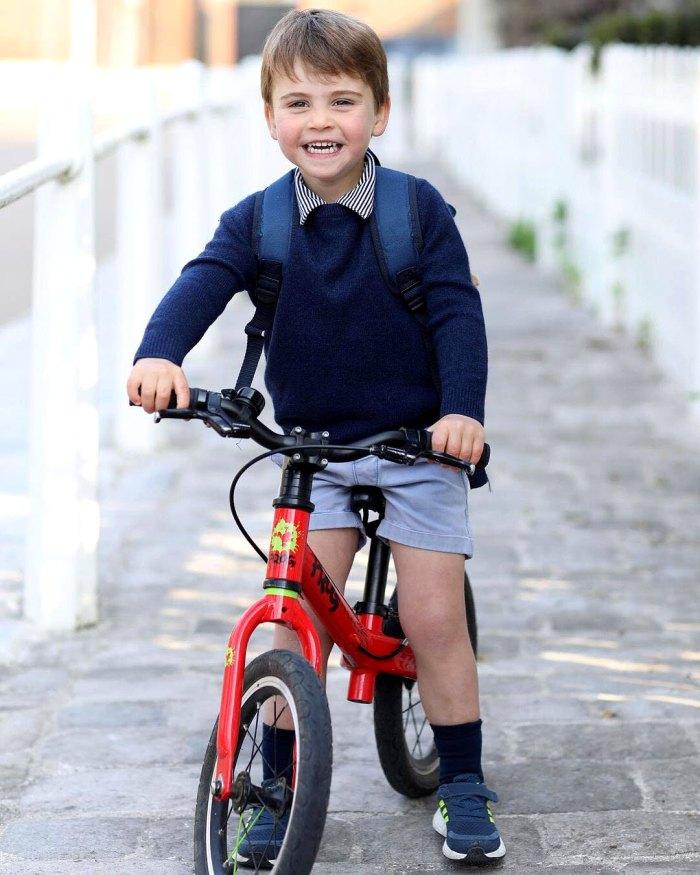 Príncipe Luis es el hermano mayor Georges Twin New Birthday Pic