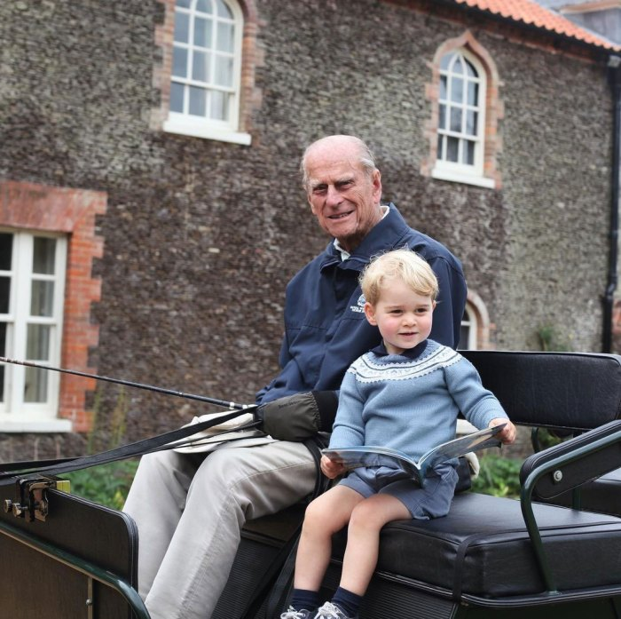 Príncipe Felipe y Príncipe George