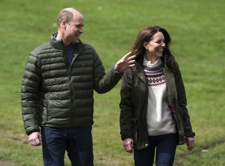 Duchess Kate and Prince William Step Out in Matching Army Green Outfits