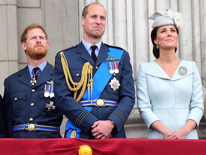 Prince William Harry Kate Were At Ease Walking After Philips Funeral