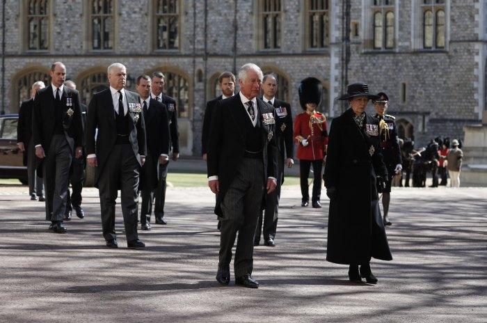 El Príncipe William El Príncipe Harry Reencuentro El Funeral Del Príncipe Felipe
