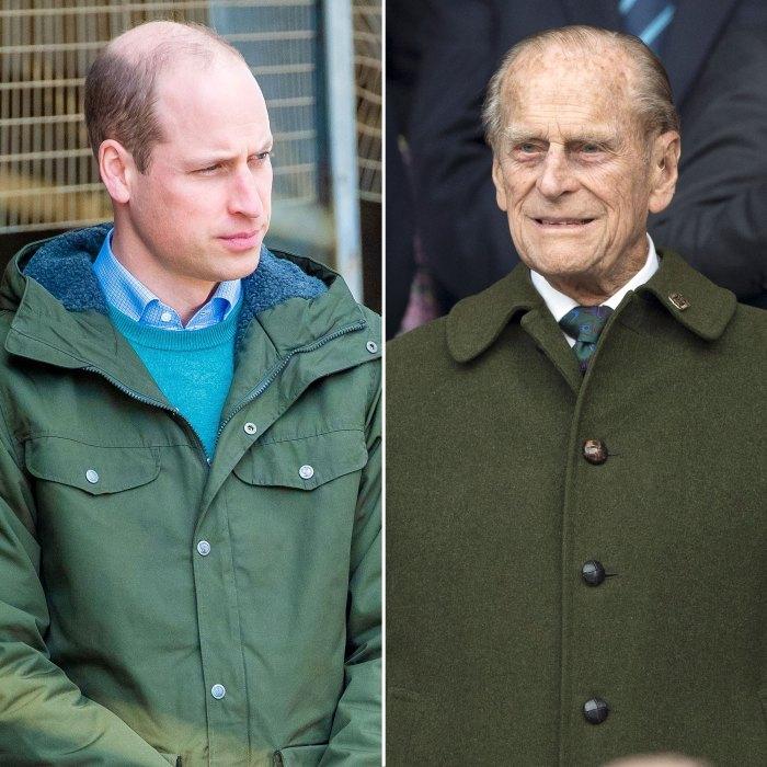 El príncipe William habla después de la muerte de Felipe 2