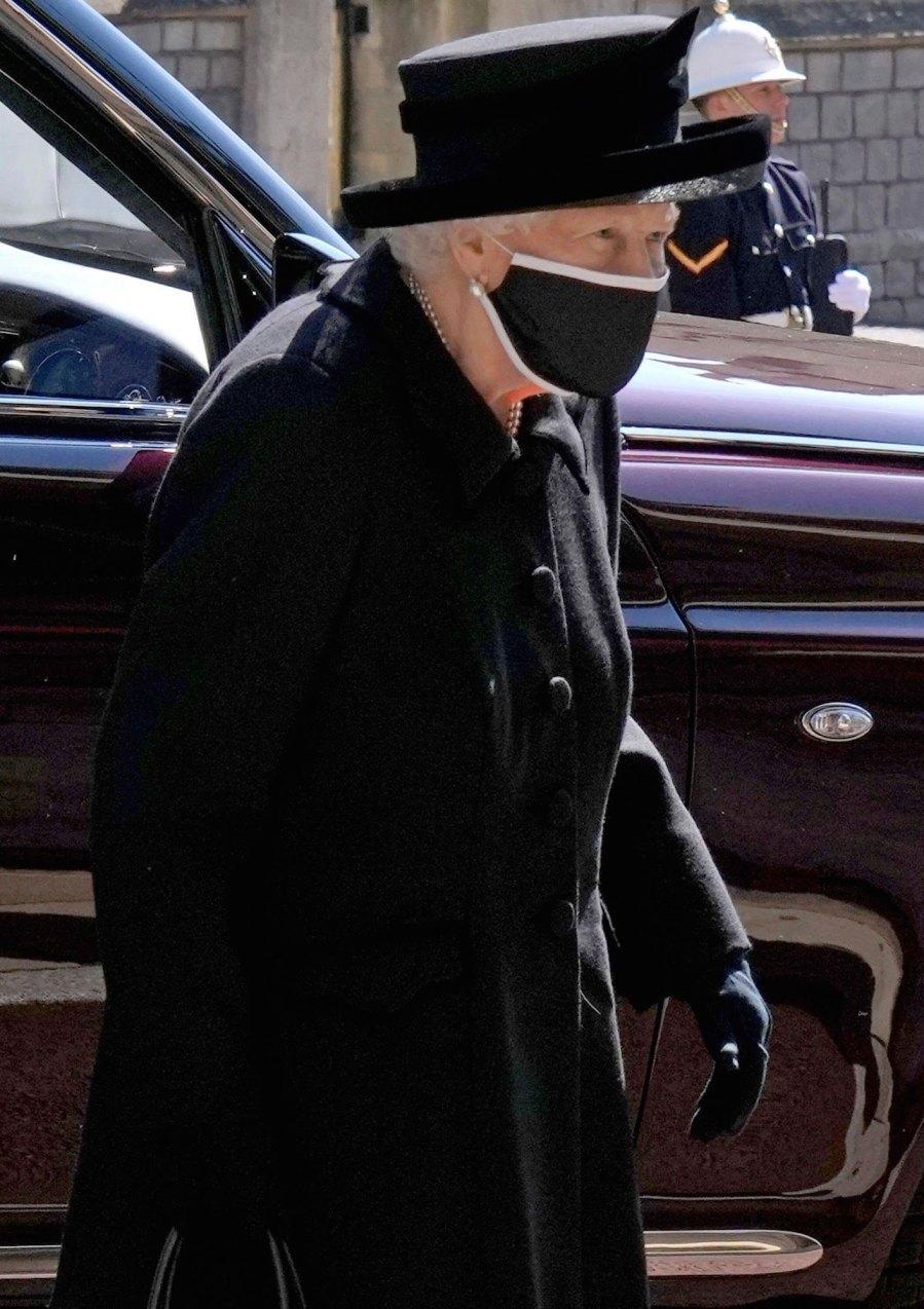Queen Elizabeth II Mourns Prince Philip