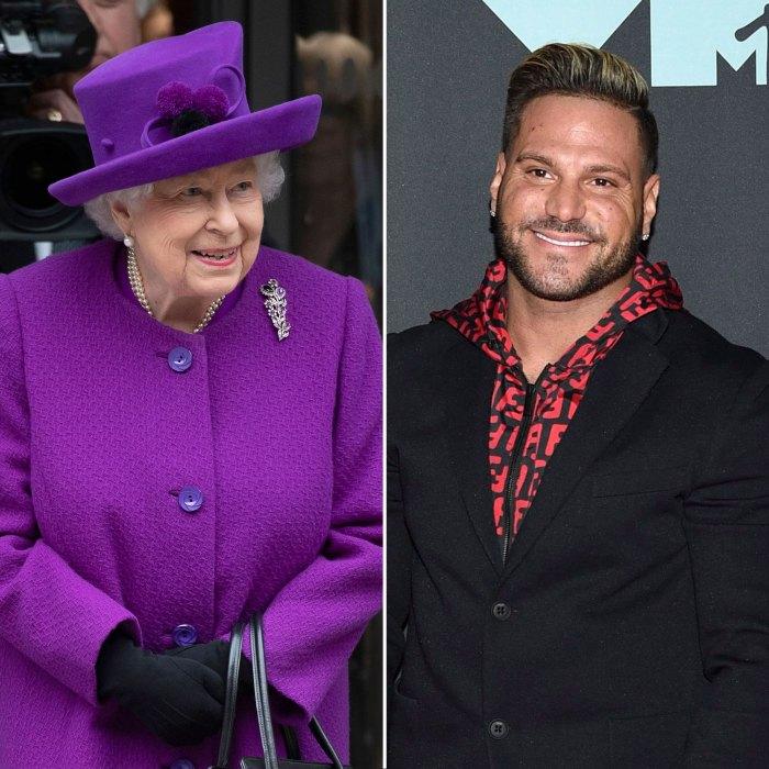 La reina Isabel hace aparición pública y Ronnie Ortiz-Magro es arrestado