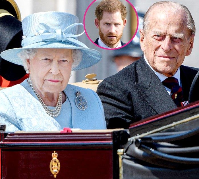 Queen Elizabeth II Is Heartbroken Over Prince Philips Death Hopes Prince Harry Will Return Home Funeral