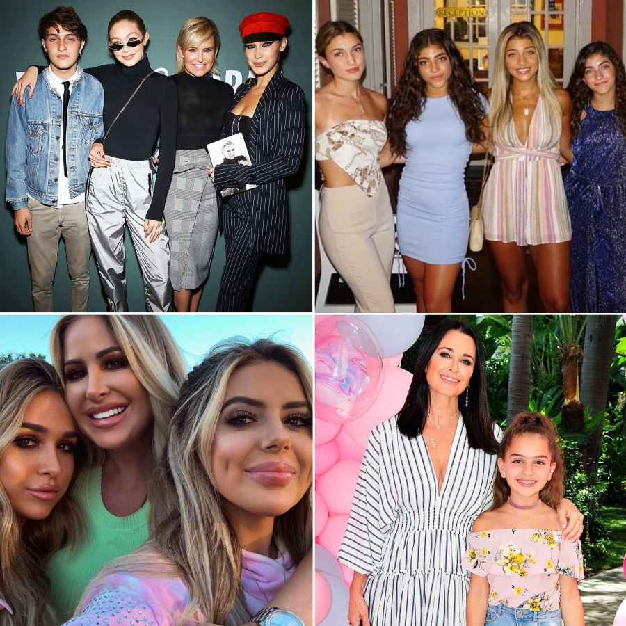 Real Housewives' Kids Then And Now Update