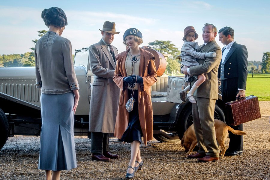 Released Downton Abbey Returning for a Second Film
