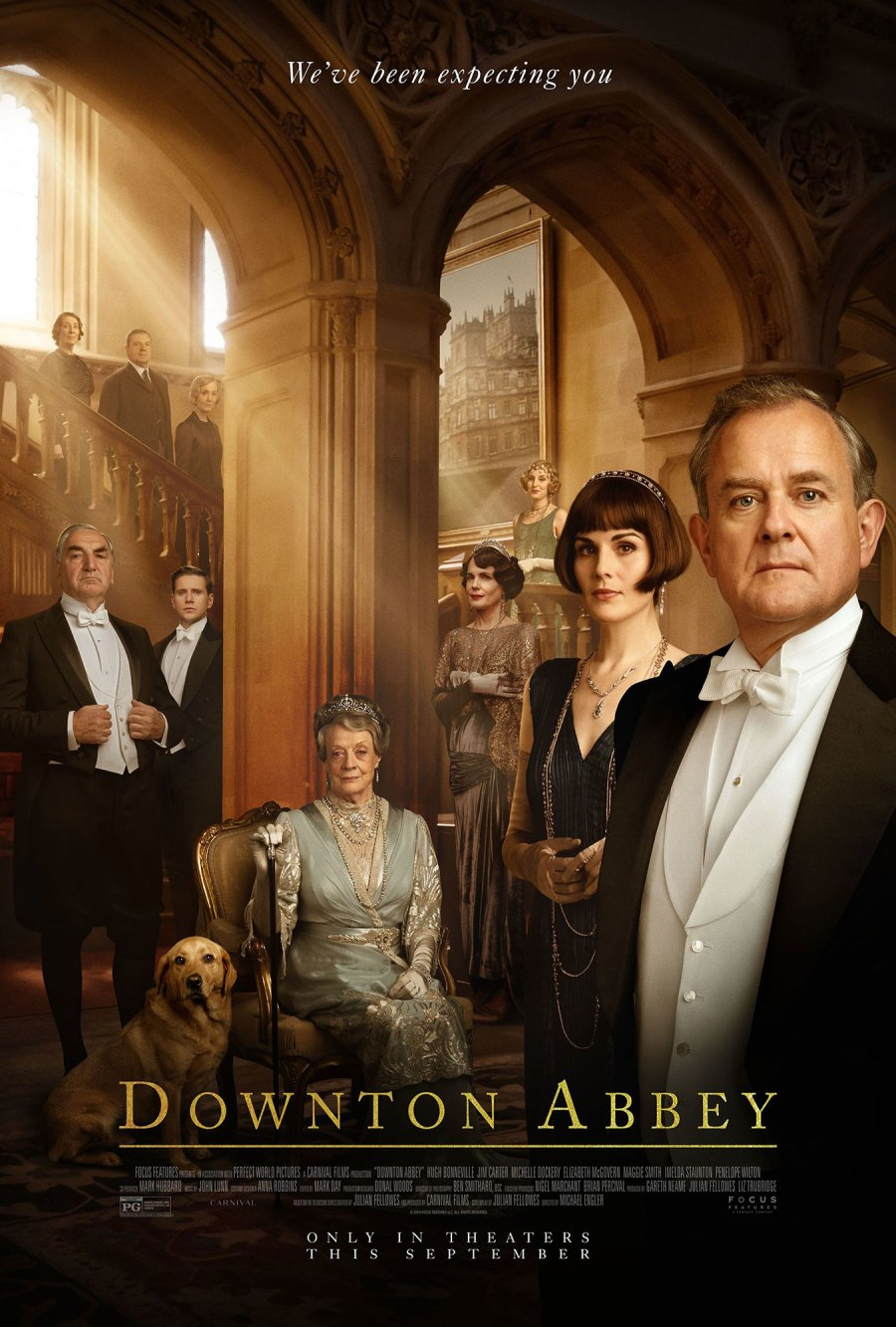 Returning Downton Abbey Returning for a Second Film