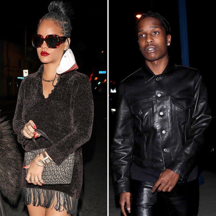 Rihanna ASAP Rocky Party LA Hotspot