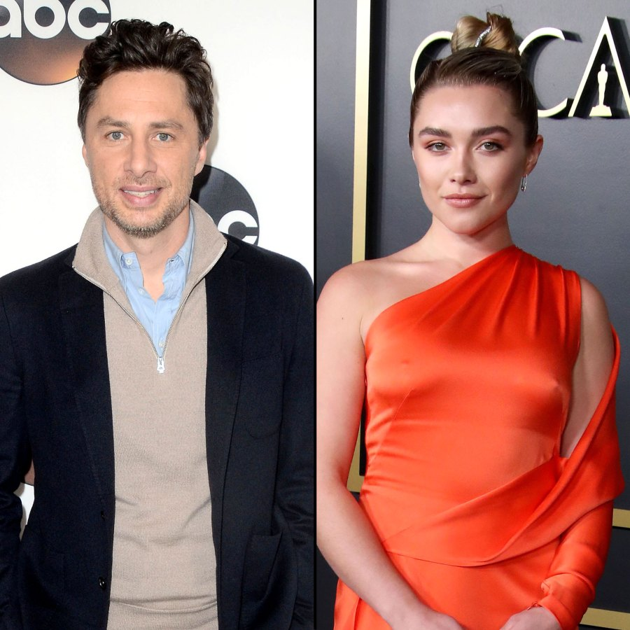 Ring Zach Braff and Florence Pugh A Timeline of Their Relationship