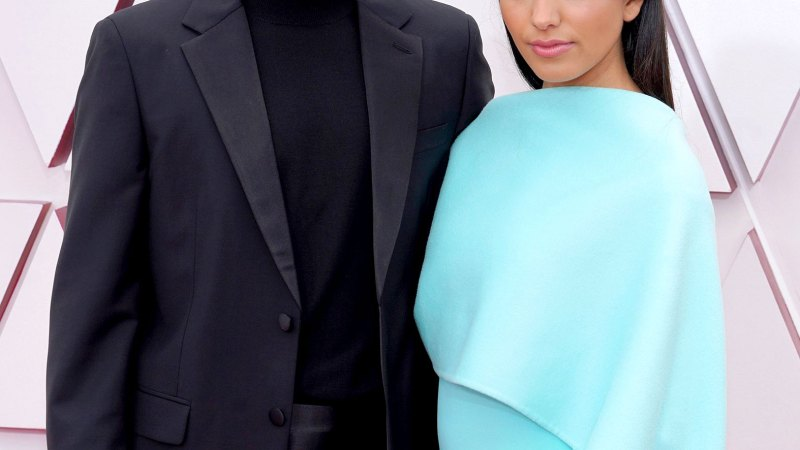 Quite the Debut! Riz Ahmed Fixes Wife Fatima's Hair on Oscars Red Carpet