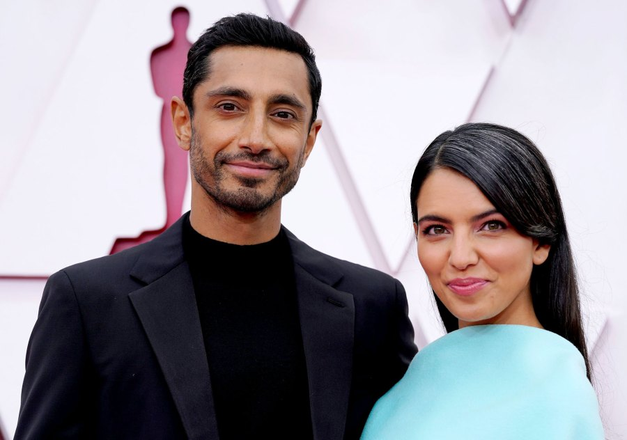 Riz Ahmed Wife Fatima Farheen Mirza Make Red Carpet Debut Oscars 2021