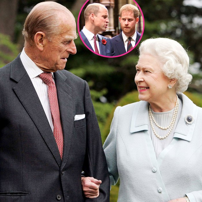 Royal Family Hopes Prince William Prince Harry Can Bond Person Ahead Prince Philip Funeral