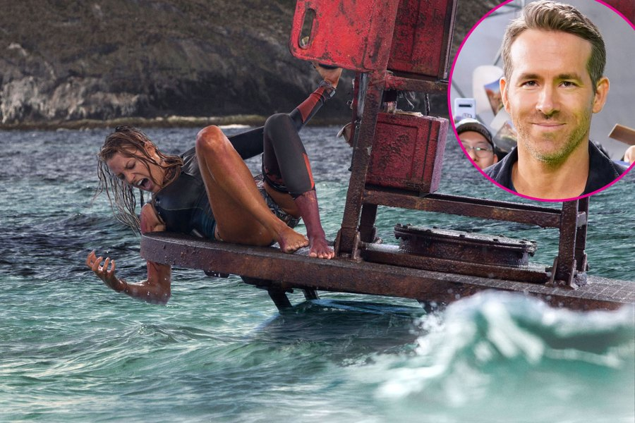 Ryan Reynolds Wants to Show Child The Shallows to Curb Baby Shark Love 2