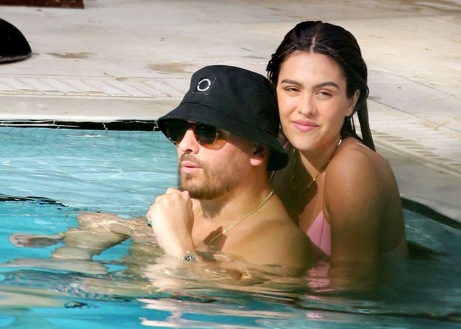 Scott Disick and Amelia Gray Hamlin Take Dip Miami