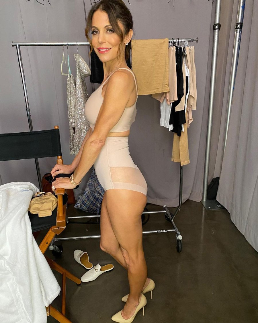 See Bethenny Frankel Strip Down to Nothing but Skinnygirl Shapewear