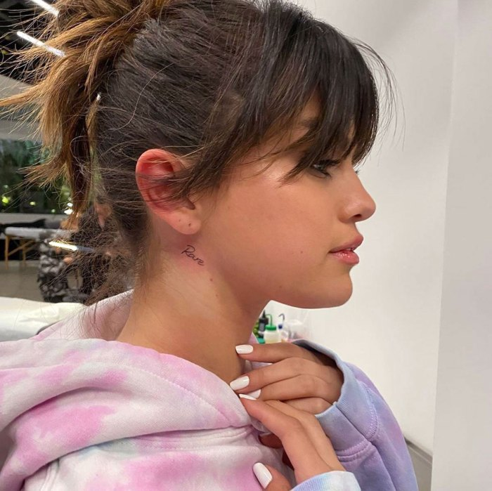 Selena Gomez Reveals Spiritual New Tattoo: Pic