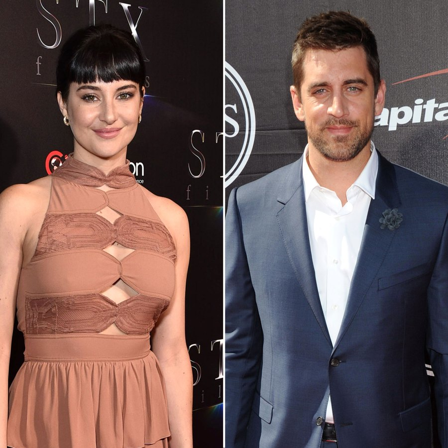 Shailene Woodley and Aaron Rodgers Give 1st Glimpse Into Their Lives