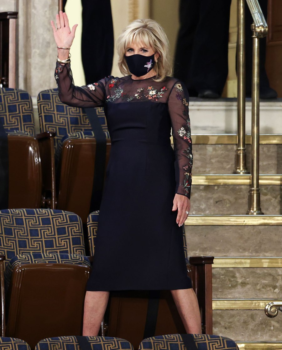 The Meaning Behind Jill Biden's Presidential Address Outfit
